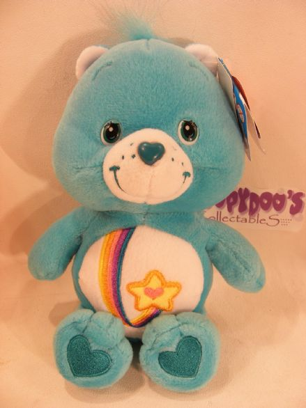 "BNWT COLL EDT 8"" THANKS-A-LOT CARE BEARS beanie"